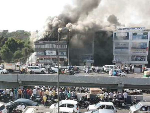 Surat Fire There Was An Illegal Electrical Connection In Entire Building