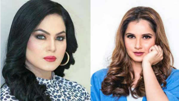 Sania Mirza And Pakistani Actress Veena Malik Involved Into Twitter Fight After Pakistan Loss