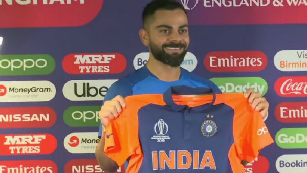 World Cup 2019 See What Virat Kohli Thinks About New Orange