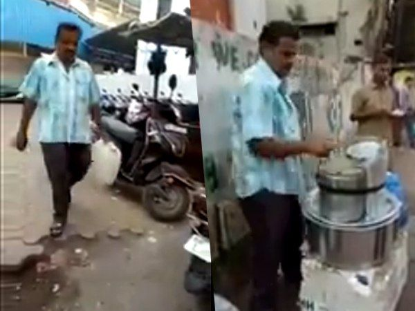 Mumbai Street Food Vendor Uses Toilet Tap Water For Idli Video Viral