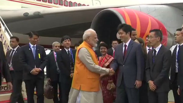 Pm Modi Reaches To Japan To Attend The G 20 Meet
