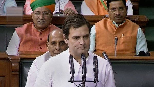 Wayanad Congress Mp Rahul Gandhi Forgets To Sign After Parliament Oath Reminded Rajnath Singh