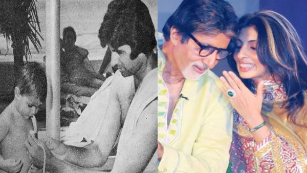 Amitabh Bachchan Shares Daughter Shweta S Throwback Pic Leaves Her Embarrased