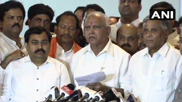 કર્ણાટકઃ ભાજપની આજે બેઠક, યેદિયુરપ્પા ચૂંટાશે મુખ્યમંત્રી