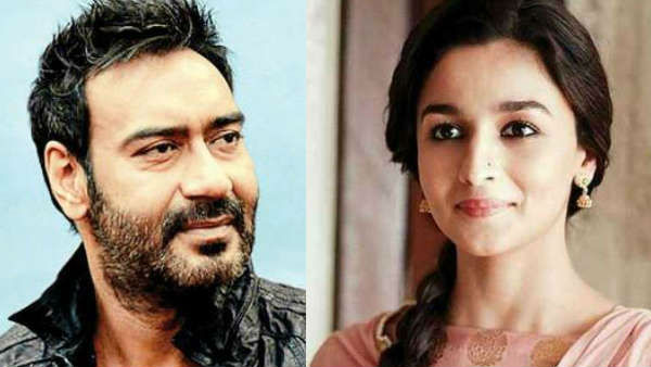 Ajay Will Play Role Of Father In Law Of Alliya Bhatt In Film Rrr