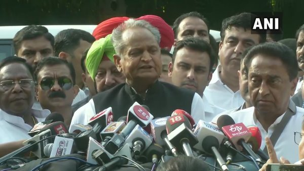 Cms Of Congress Ruled States Talk To Media After Meeting With Rahul Gandhi