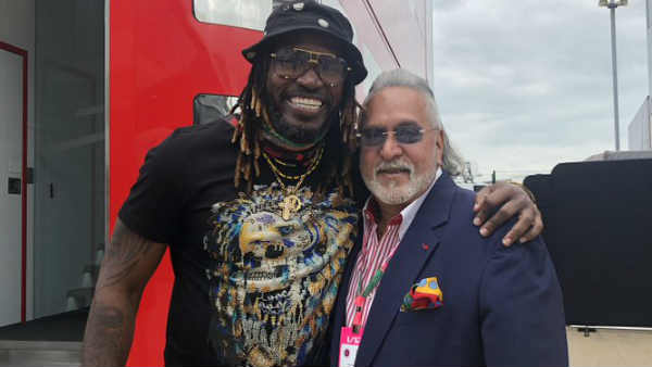Chris Gayle Posted A Photo With Vijay Mallya Called Him Big Boss
