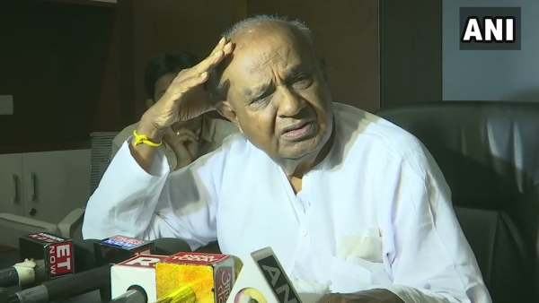 Never Seen Politics Like This Before Says Hd Deve Gowda