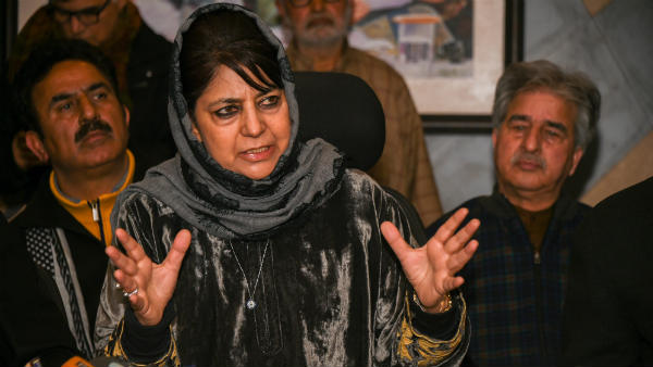 Mehbooba Mufti Blames New Jersey For The Loss Of Team India Against England In World Cup