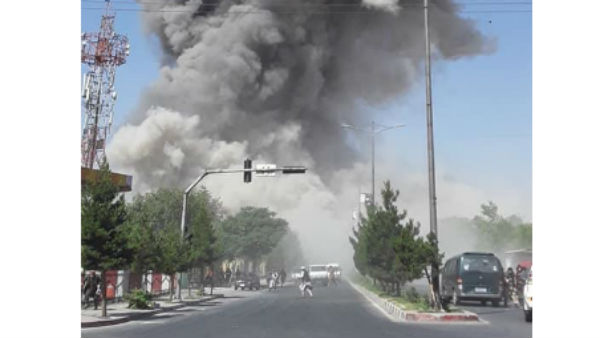 A Powerful Blast In Kabul Many Football Players Injured