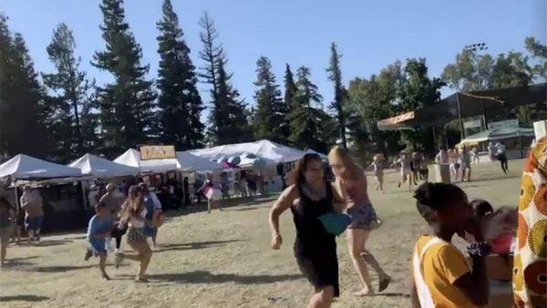 California Shooting During The Garlic Festival 3 Casualtie