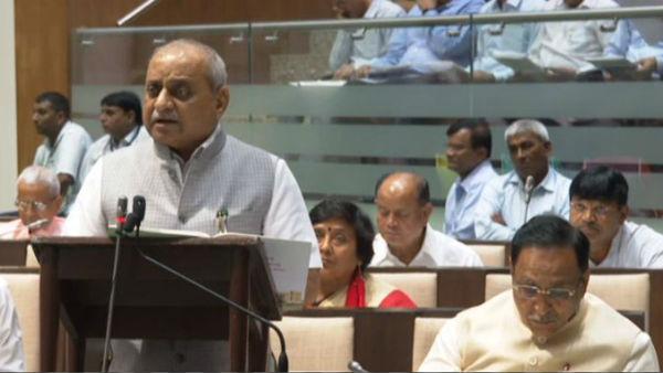 Gujarat Budget 2019 Live Nitin Patel Present Gujarat Budget For 2019