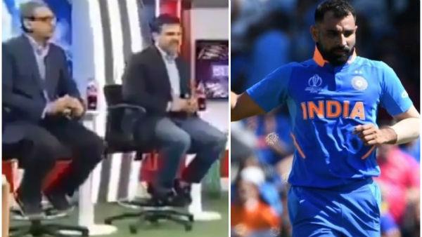 Video: પાકિસ્તાની એક્સપર્ટનો દાવો, 'ભાજપના દબાણમાં શમીને ટીમમાંથી ડ્રોપ કર્યો'