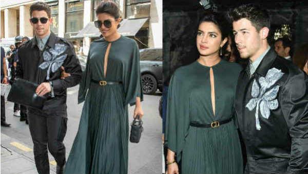 Priyanka Chopra And Nick Jonas Are The Sexy Couple At Paris Fashion Week