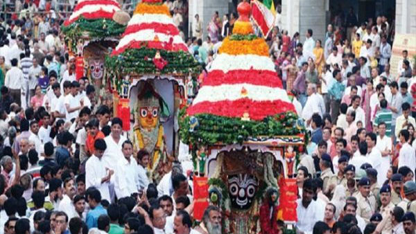 Ahmedabad Jagannath Rath Yatra Cm Vijay Rupani Reached There