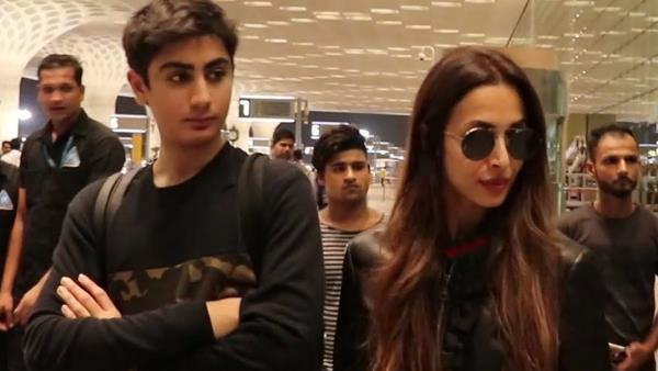 Malaika Arora Son Arhaan Reaction Her Relation With Arjun Kapoor