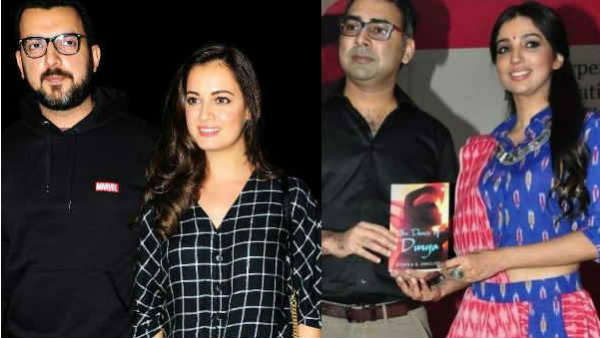 Dia Mirza Sahil Sangha Separated Because Both Were Involved With Other People