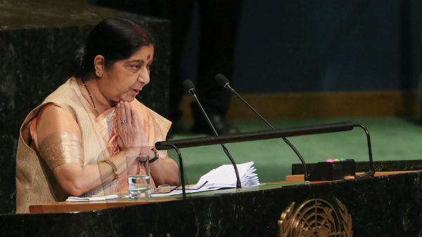 See When Historic Speech Of Smt Sushma Swaraj In Lok Sabha 11 6 1996 She Was Great Leader