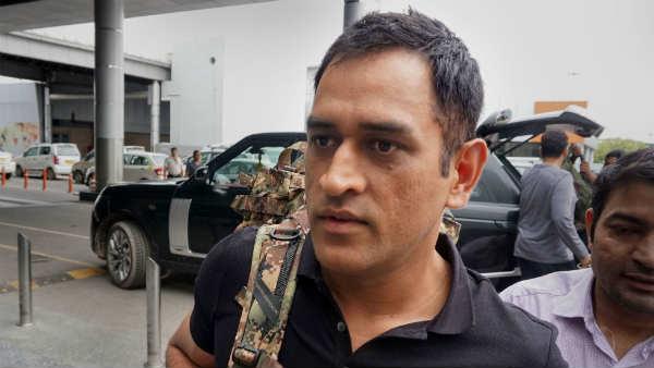Lt Colnel Ms Dhoni Will Unfurl Triranga In Ladakh On 15th August