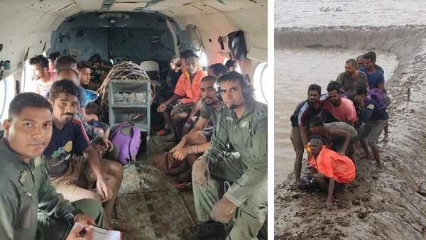 Gujarat Rains Due To Heavy Rains 5000 People Were Shifted