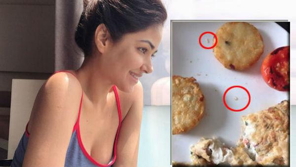Video: આ અભિનેત્રીના ભોજનમાં દેખાયો 'ચાલતો કીડો', બિમાર થઇ