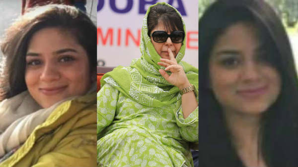 Find Out Where The Mehbooba Mufti Daughters Are Now And What They Do