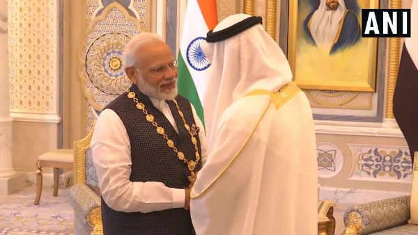 UAEના સર્વોચ્ચ નાગરિક સન્માન 'ઑર્ડર ઑફ જાયદ'થી પીએમ મોદી સન્માનિત, પાકિસ્તાનને મરચાં લાગશે