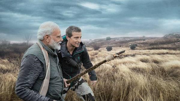 Pm Modi Man Vs Wild He Spoke To Bear Grylls My Upbringing Does Not Allow Me To Take Life