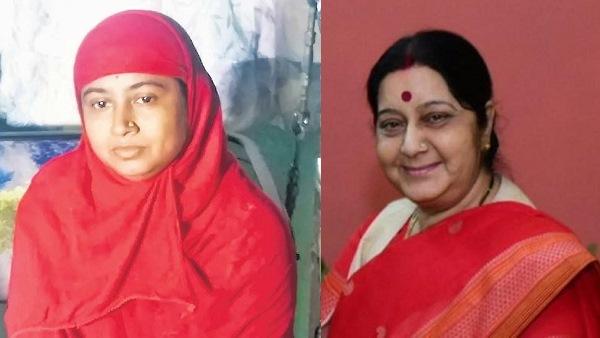 Ahmedabadi Noor Jahan Remembering Sushma Swaraj