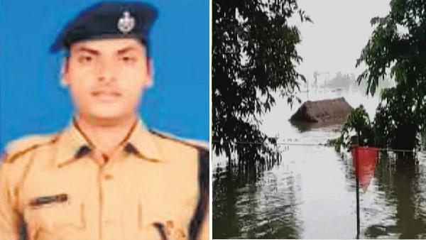Gujarat Flood Rpf Jawans Rescued 8 People