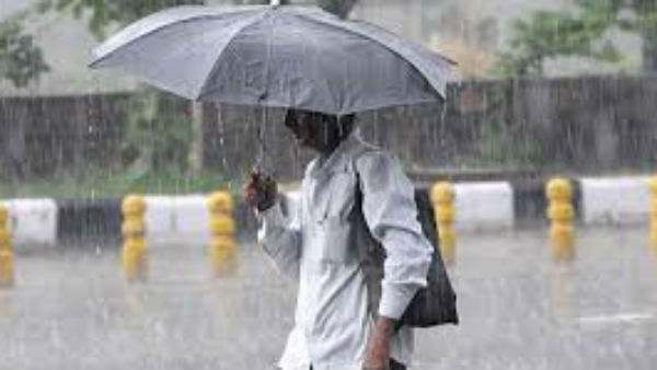 Red Alert Of Heavy Rain In Uttar Pradesh And Delhi