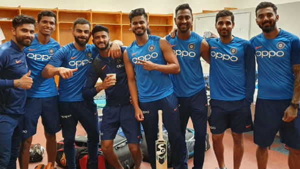 Captain Kohli Shared Pic Rohit Sharma Is Missing From It