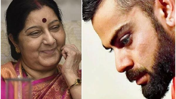Virat Kohli S Sad Message On Death Of Sushma Swaraj