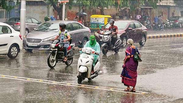 Vadodara Rains Updates Gujarat City Flooded See Horrible Viral Video
