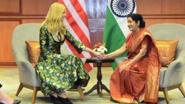 Sushma Swaraj Was A Champion For Women In India And Across Globe Ivanka Trump Daughter Donald Trump