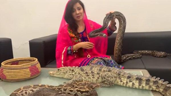 <strong>વીડિયો: આ પાકિસ્તાની સિંગરે પીએમ મોદીને સાપોથી કરડાવવાની ધમકી આપી</strong>
