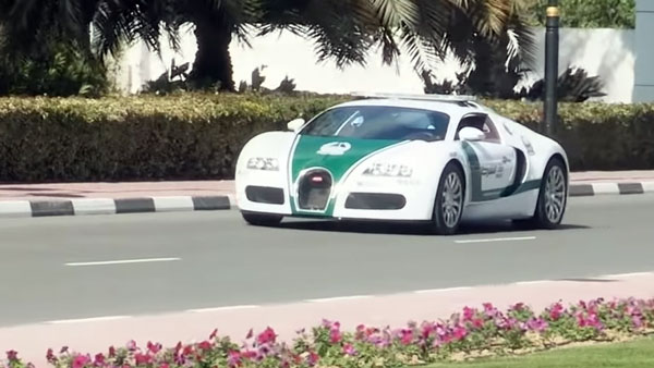 Dubai Police Uses This Super Cars For Petrling