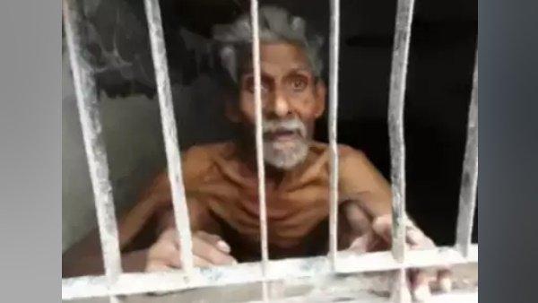 સંપત્તિ માટે વૃદ્ધ પિતાને કપાતર પુત્રએ અંધારિયા રૂમમાં કર્યા કેદ, રાખ્યા ભૂખ્યા-તરસ્યા