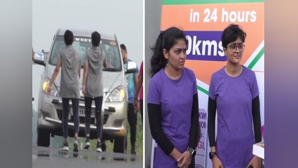 These 2 Women From Gujarat Rans Backward Up To 53 Km In 13 Hours