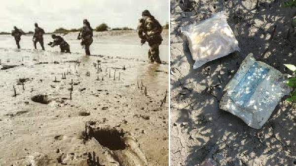 Kutch Bsf Finds Drug Packets On Pakistan Border