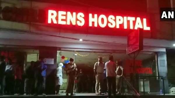 હૈદરાબાદઃ ચાઈલ્ડ હોસ્પિટલમાં આગ લાગી, એક બાળકીનું મોત, ચાર ગંભીર