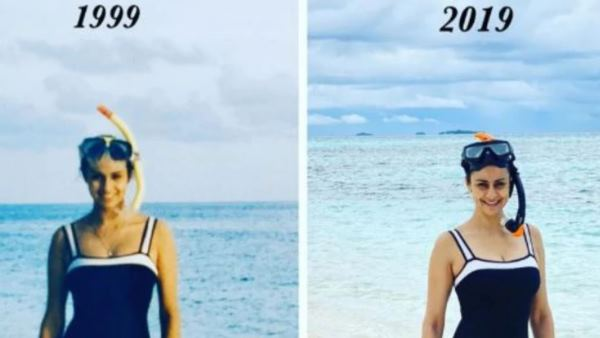 Gul Panag Shared Her 20 Year Old Photo With Swimsuit On Instagram