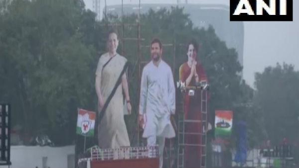 દિલ્લીના રામલીલા મેદાનમાં કોંગ્રેસની 'ભારત બચાવો' રેલી આજે