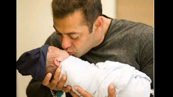 First Pic Of Salman Khan Niece Know The Name