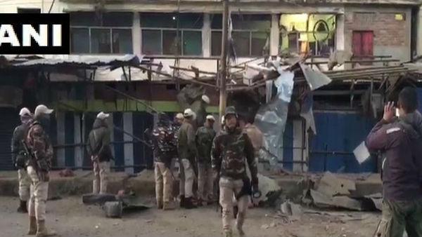 મણિપુર-ઈમ્ફાલમાં IED ધમાકો, સુરક્ષાબળોએ વિસ્તારને ઘેર્યો