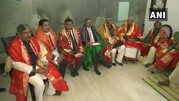 રામ મંદિર ટ્રસ્ટની પહેલી બેઠક, નૃત્ય ગોપાલ દાસ બન્યા અધ્યક્ષ