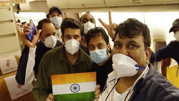 જાપાનના ડાયમંડ પ્રિંસેસ ક્રૂજ પર ફસાયેલા 119 ભારતીયો દિલ્હી પહોંચ્યા