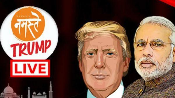 Donald Trump India Visit LIVE Updates: ભારત રવાના થયા યુએસ રાષ્ટ્રપતિ ટ્રમ્પ