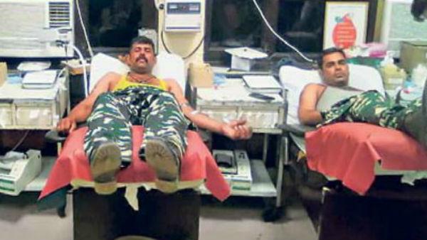 દિલ્લી હિંસાઃ ઘાયલોને લોહી ખૂટે નહિ એટલા માટે 36 જવાનોએ કર્યુ રક્તદાન