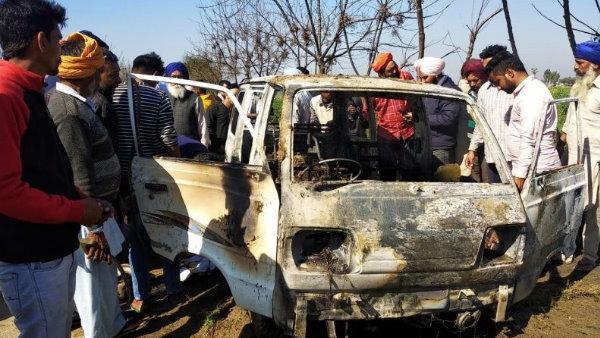પંજાબના સંગરુરમાં દર્દનાક દૂર્ઘટના, સ્કૂલ વેનમાં આગ લાગતા 4 બાળકોના મોત